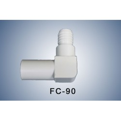 90° Adapter for angled connection