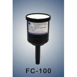 Charcoal cartridge filter (exhaust filter)  100 gramms  (validity : 1 year)