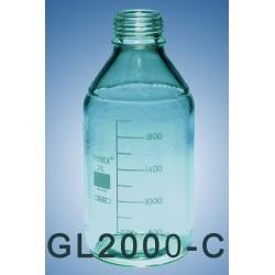 DURAN laboratory bottle GL45  2000  ml ( clear glass)