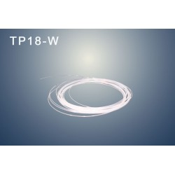 "Capillary tube PTFE (WHITE) OD:  1/8"" (3,2 mm)   ID: 1,7 mm"