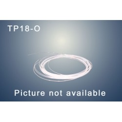 "Capillary tube PTFE (ORANGE) OD:  1/8""(3,2 mm)   ID: 1,7 mm"