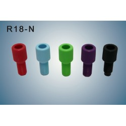 "Nuts  (BLACK) for 1/8"" (for tubing of 3,2 to 2,5 mm)"