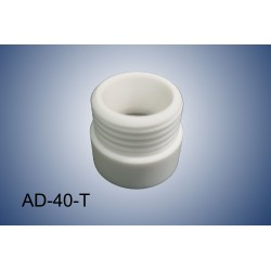 Thread adapter GL40 (f) to GL45 (m)(PTFE)