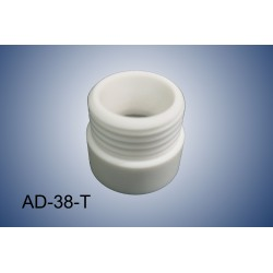 Thread adapter GL38 (f) to GL45 (m) (PTFE)