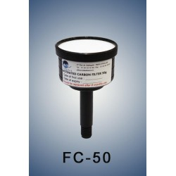 Charcoal cartridge filter (exhaust filter)  50 gramms  (validity: 6 months)